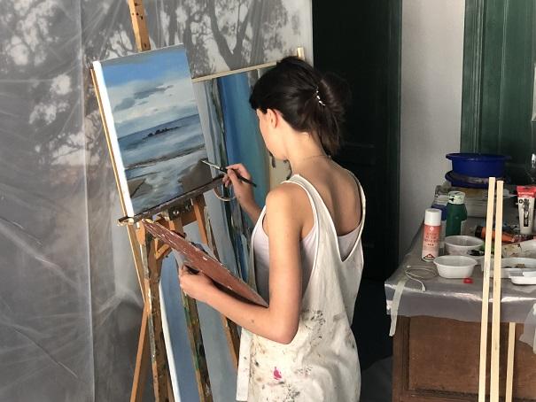simposio internacional de artistas Sianoja 2018. Adriana Bergés