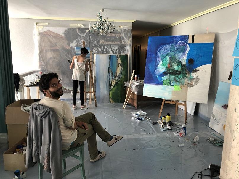 simposio internacional de artistas Sianoja 2018. jERONIMO mAYA