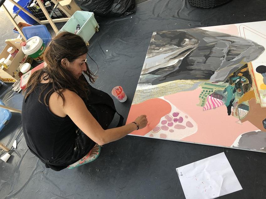 simposio internacional de artistas Sianoja 2018.EMMA MERUELO
