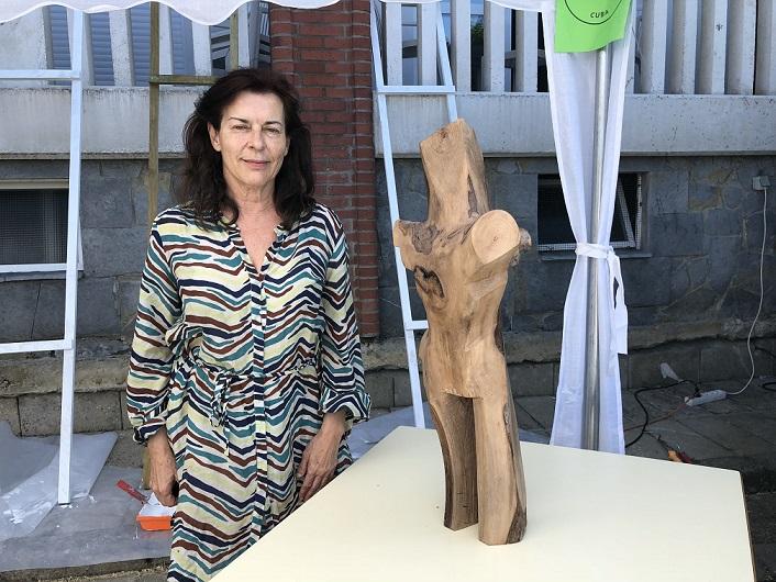 simposio internacional de artistas sianoja 2018 TERESA ESTEBAN ESCULTORA