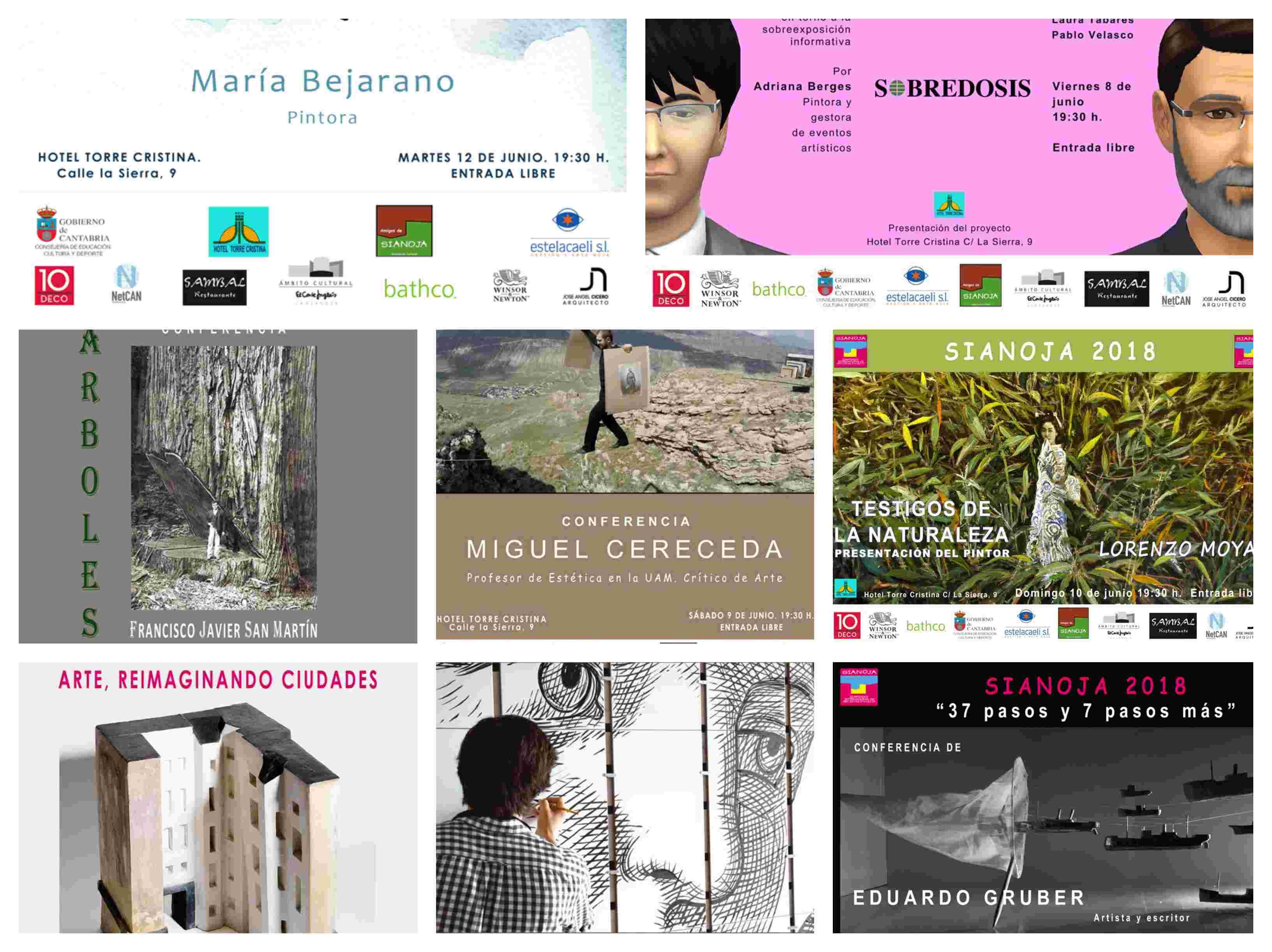 simposio internacional de artistas sianoja 2018 conferencias