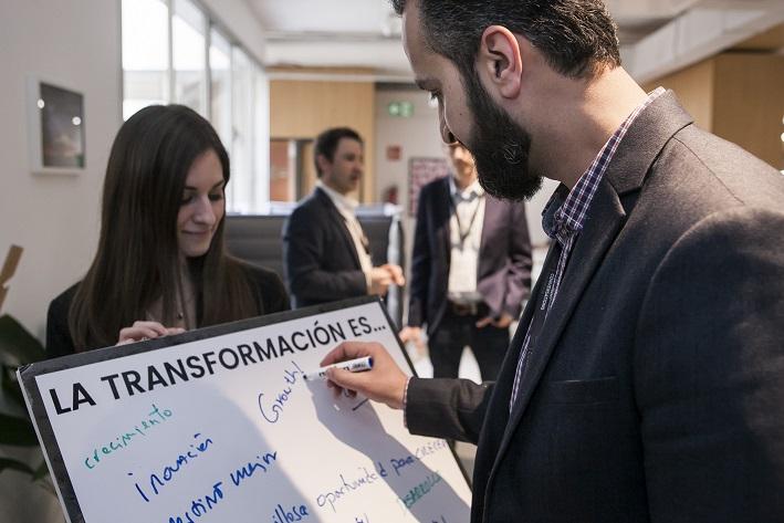 smart conversations 3g office 2018 workplace design conference barcelona . Transformación de las empresas