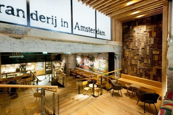 starbucks-concept-store-amsterdam-8-600x398 decoración con madera