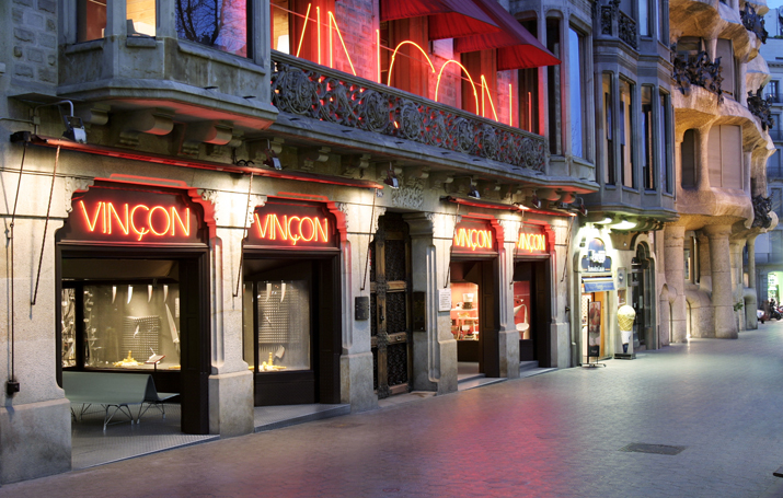 tienda-barcelona  Vincon Barcelona,  una tienda con historia