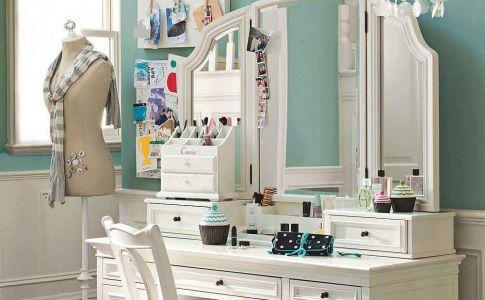 El tocador t rinc n de belleza y estilo 10decoracion - Como forrar una silla de escritorio ...