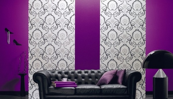Decora tu casa con papel pintado 10decoracion - Tipos de papel pintado ...