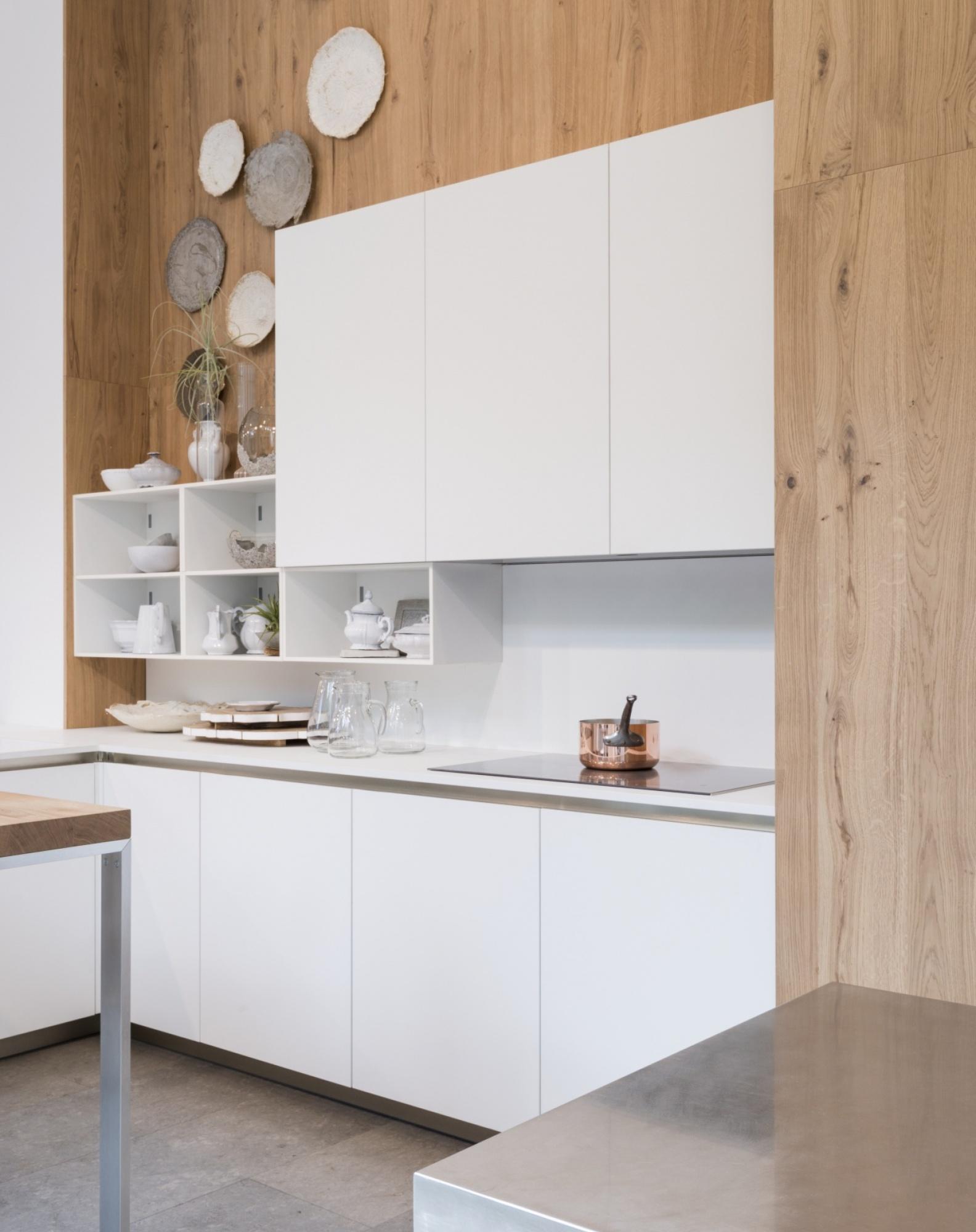fenixntm milano design week laminado fenix en puertas de cocina