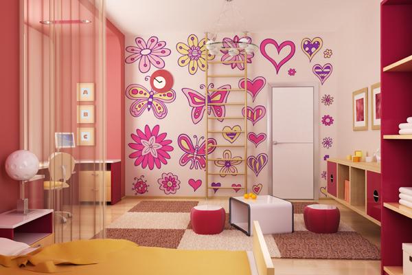 La primavera llega a tu hogar 10decoracion - Vinilos para habitaciones infantiles ...