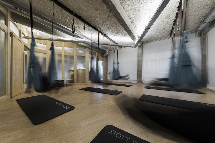 yoga y pilates sana sana en Porriño. Nan arquitectos