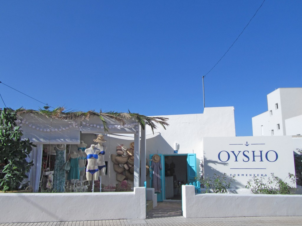 Pop Up -Oysho Formentera