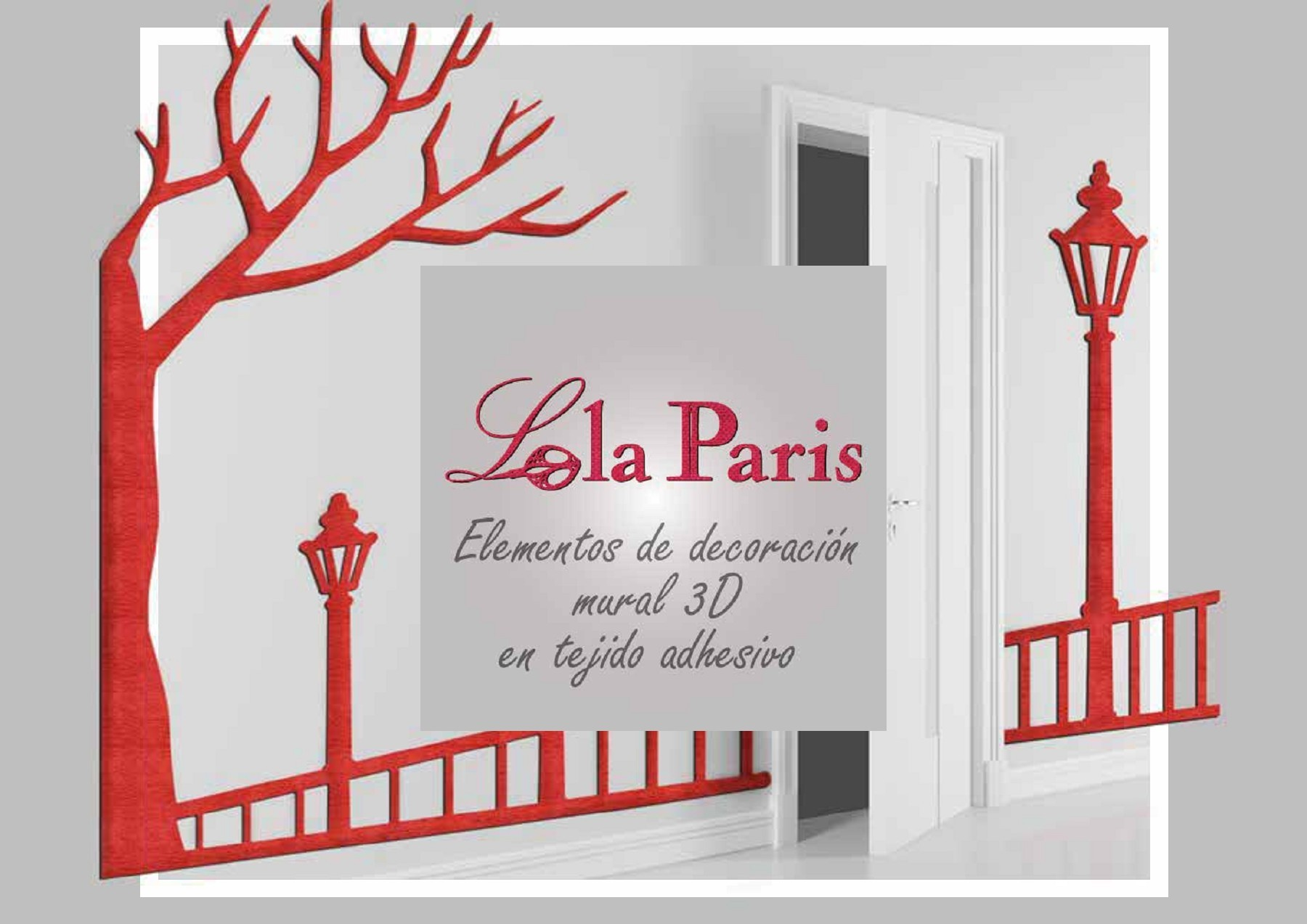 Decoración mural Lola Paris