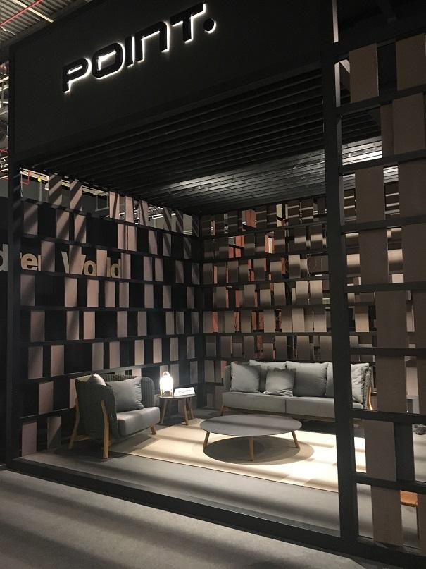 Point. Mueble de España. Anieme Informe exportacion española de muebles 2017