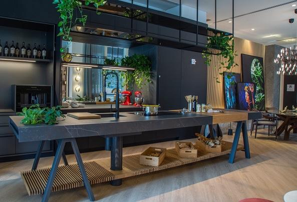 Urban Gourmet Oasis 4 con Dekton by Cosentino. CasaCor Miami