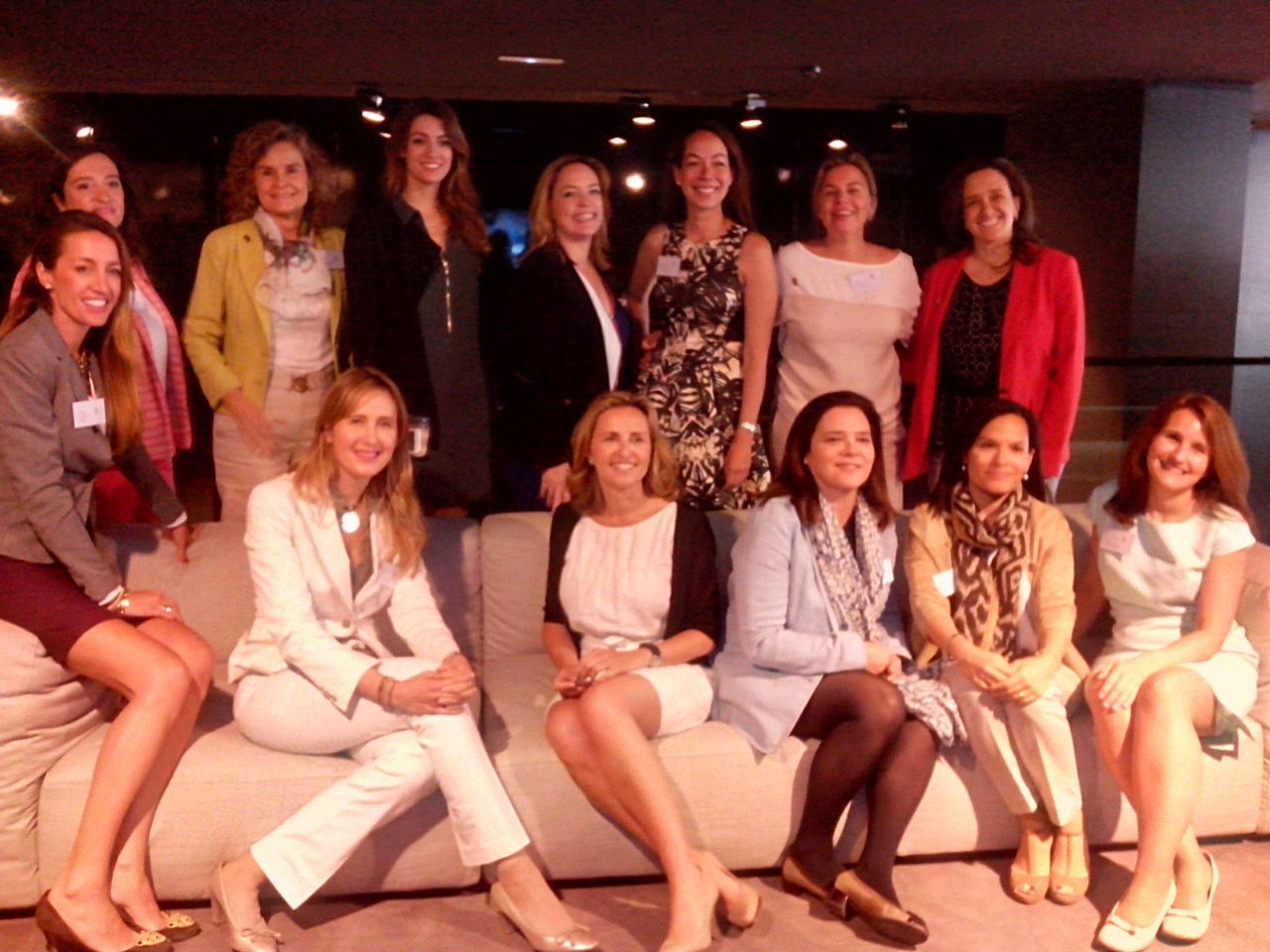 Presentación en Roca Gallery Madrid de Wires women in real estate spain