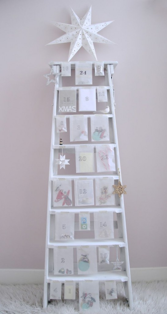 adornos de navidad originales calendario adviento