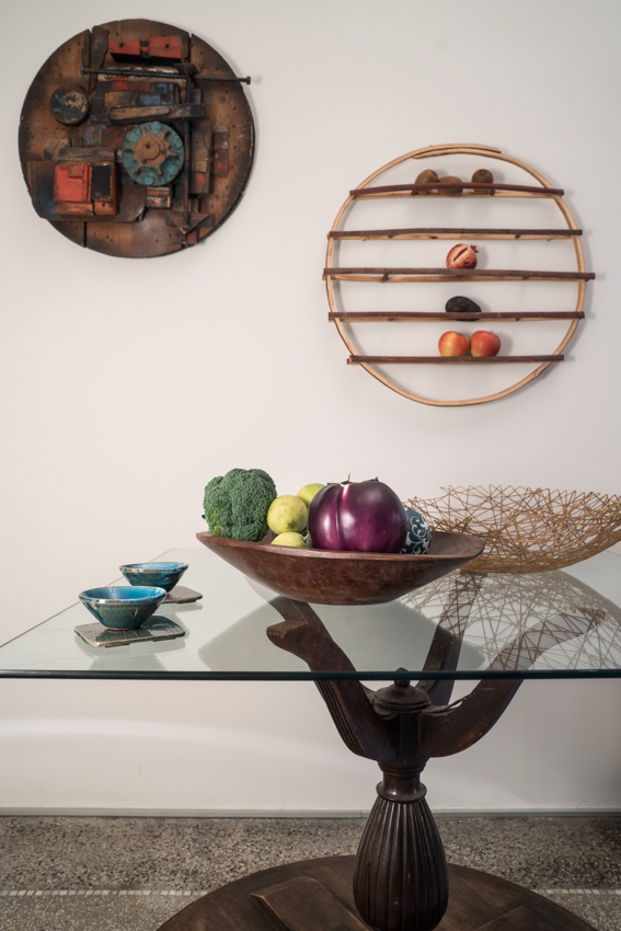 tavolo cucina, mesa de cocina original, mesa cristal y madera marisa coppiano architetto En casa de la arquitecto marisa coppiano en torino