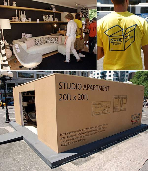 Pop Up Store de Ikea en Reino Unido
