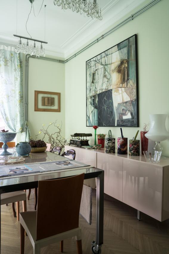 18_la-sala-da-pranzo marisa coppiano architetto torino En casa de la arquitecto marisa coppiano en torino