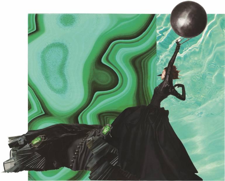 marisa coppiano- collage saatchi