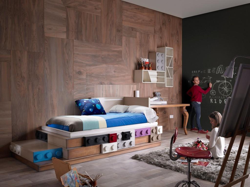 1ambar-muebles.com-cama-juvenil-legos-de-lola-glamour Dormitorios juveniles con estilo