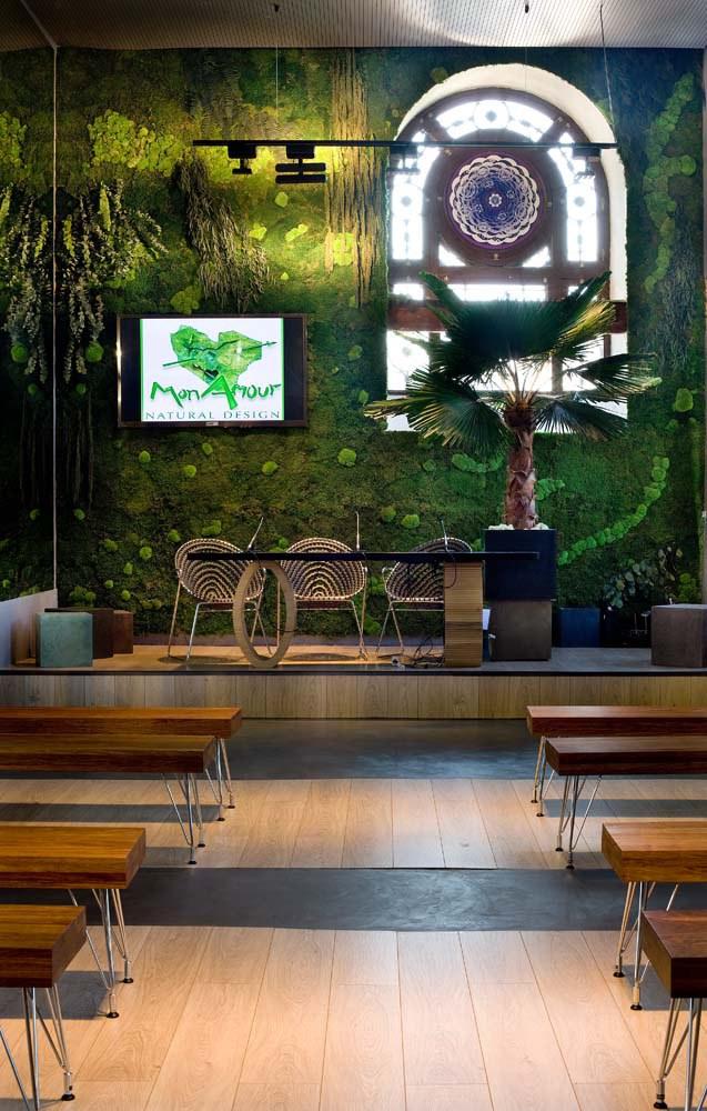 casadecor interior-casa-con-arboles-dentro Diseño y naturaleza. Jardín vertical
