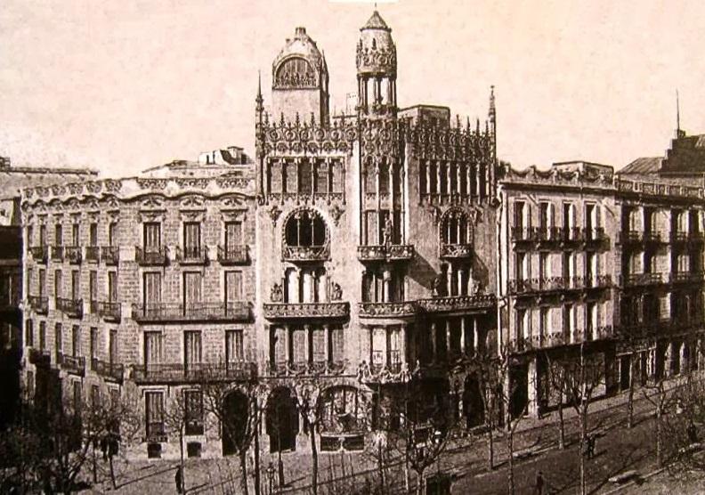 Fachada del edificio una vez finalizada la obra de reforma integral