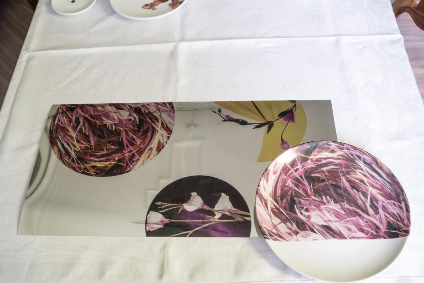 marisa coppiano architetto torino platos de cerámica decorados piatti En casa de la arquitecto marisa coppiano en torino