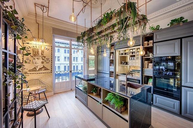 Cocina.Steven Littlehales. MEMESIS Espacios Casa Decor 2019