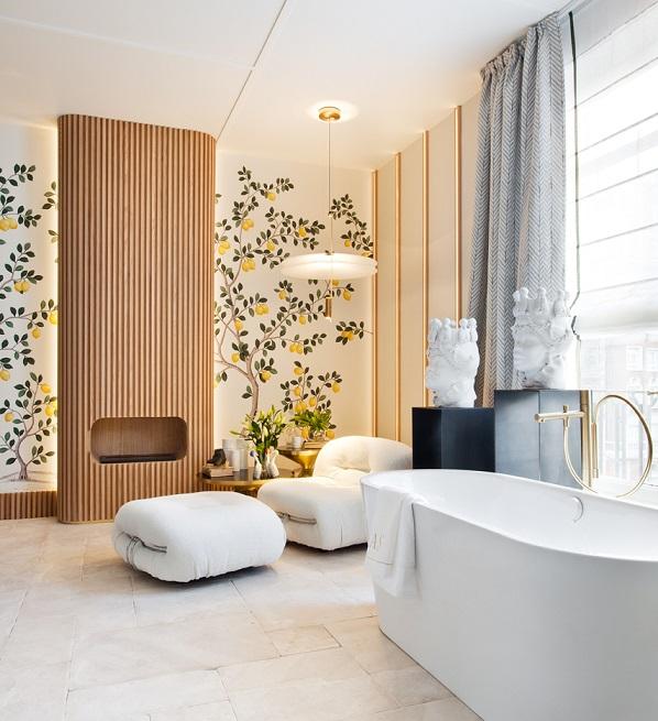 Cuarto de baño.Espacio AXOR,porASInteriorista. Terma Benessere espacios casadecor 2019