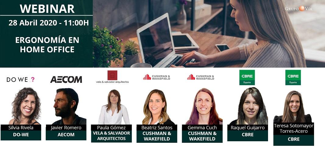 webinar ergonomia en home office