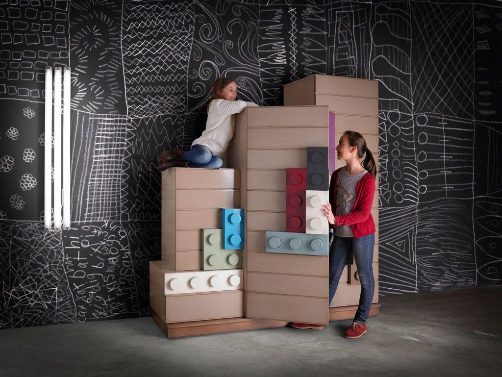 . Dormitorios juveniles con estilo. ambar-muebles.com-armario-juvenil-legos-de-lola-glamour Dormitorios juveniles con estilo