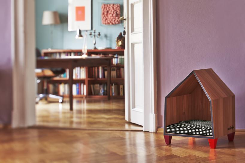 Muebles de diseño para mascotas. Casa de mascotas Casa con mascotas