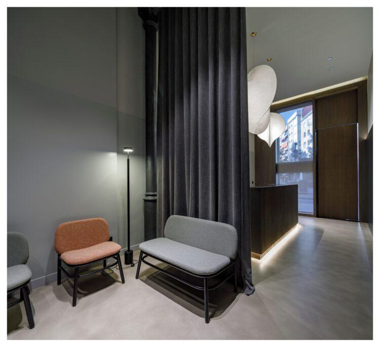 Clinica Dental Eva Cruz . Orense. Soja Arquitectura. Fotos Álex Fernández Photography