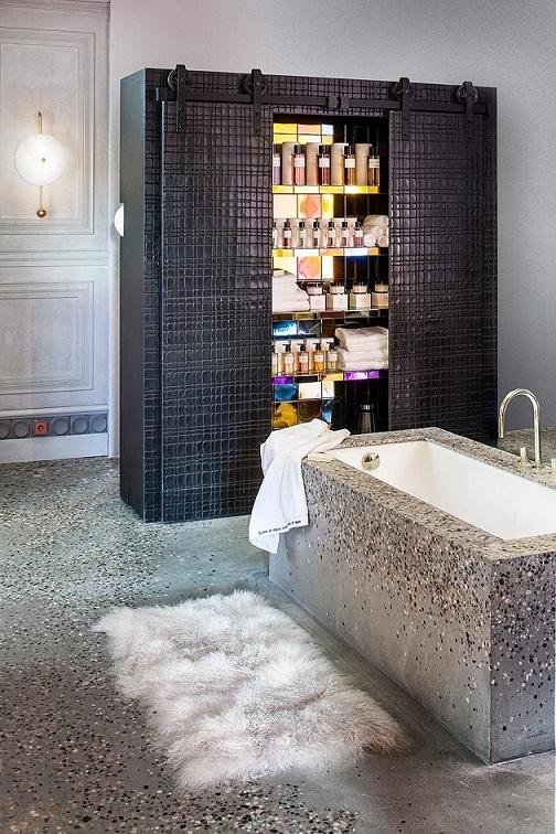 Cuarto de baño.Espacio LAUFEN,porPepe Leal. Espacios Casa Decor 2019
