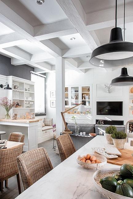 Cocina-comedor.Deulonder. THE LIVING COOK . Espacios Casa Decor 2019