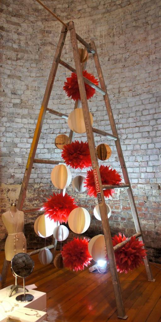 arbol de navidad original. adornos de navidad originales