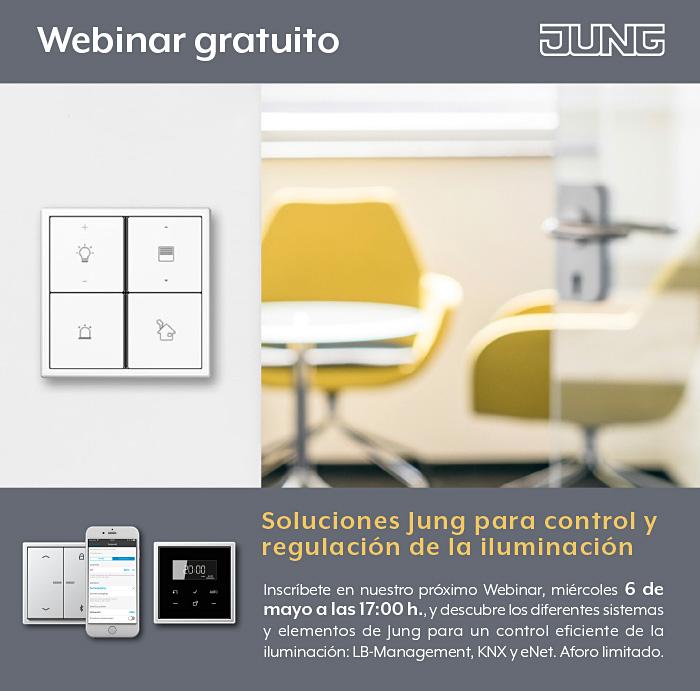 Webinar Soluciones control iluminación JUNG