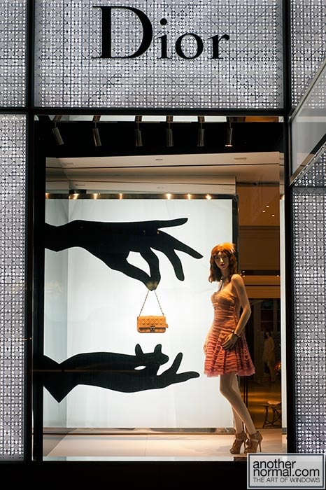 escaparatismo. Escaparate de Dior