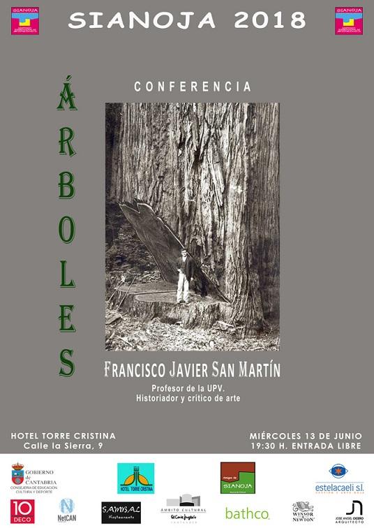 Arboles J. San Martin critico de arte. sianoja 2018