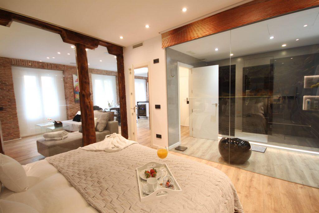 Viviendas turísticas en alquiler Vista desde el dormitorio