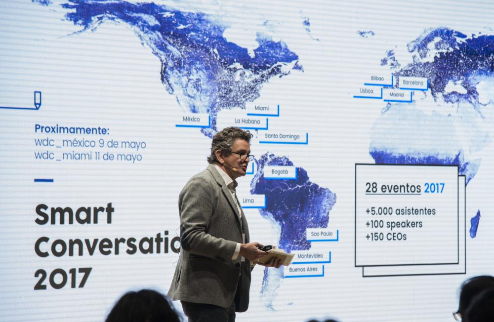 francisco vázquez Medem 3g office. Smart Conversations. La revolucion del Retail . Madrid y Barcelona 3 y 5 Octubre 2017