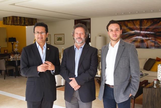 Juan Bernardo Dolores, Carlos Lassala, Memo Orozco