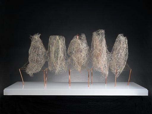 APERTURA MADRID GALLERY WEEKEND 2019 . Galería Michelle Soskine. Antonio Crespo. pentámero 2018
