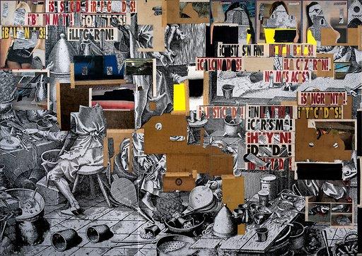APERTURA MADRID GALLERY WEEKEND 2019 . galeria nf . Moris El pago de la avaricia