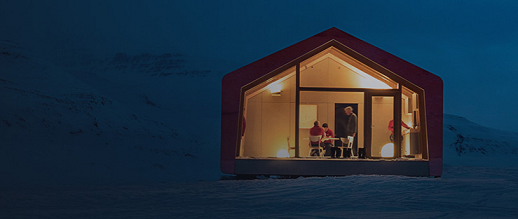 ARISTON COMFORT CHALLENGE. Un reto a la Naturaleza. Vivienda modular en el Artico