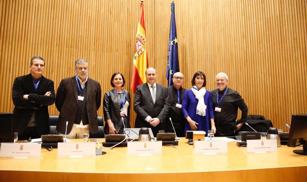 ActiuCongreso diseño español en el congreso de los diputados
