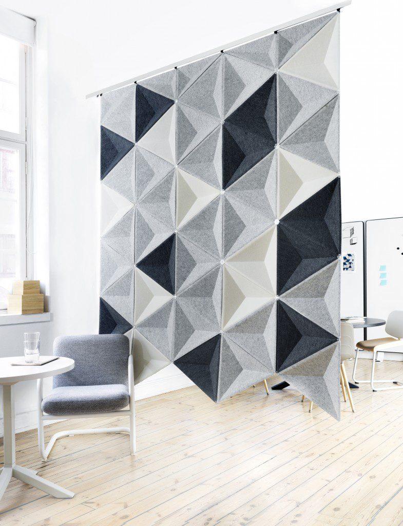 Aircone Abstracta aislamiento acustico para oficinas colaborativas