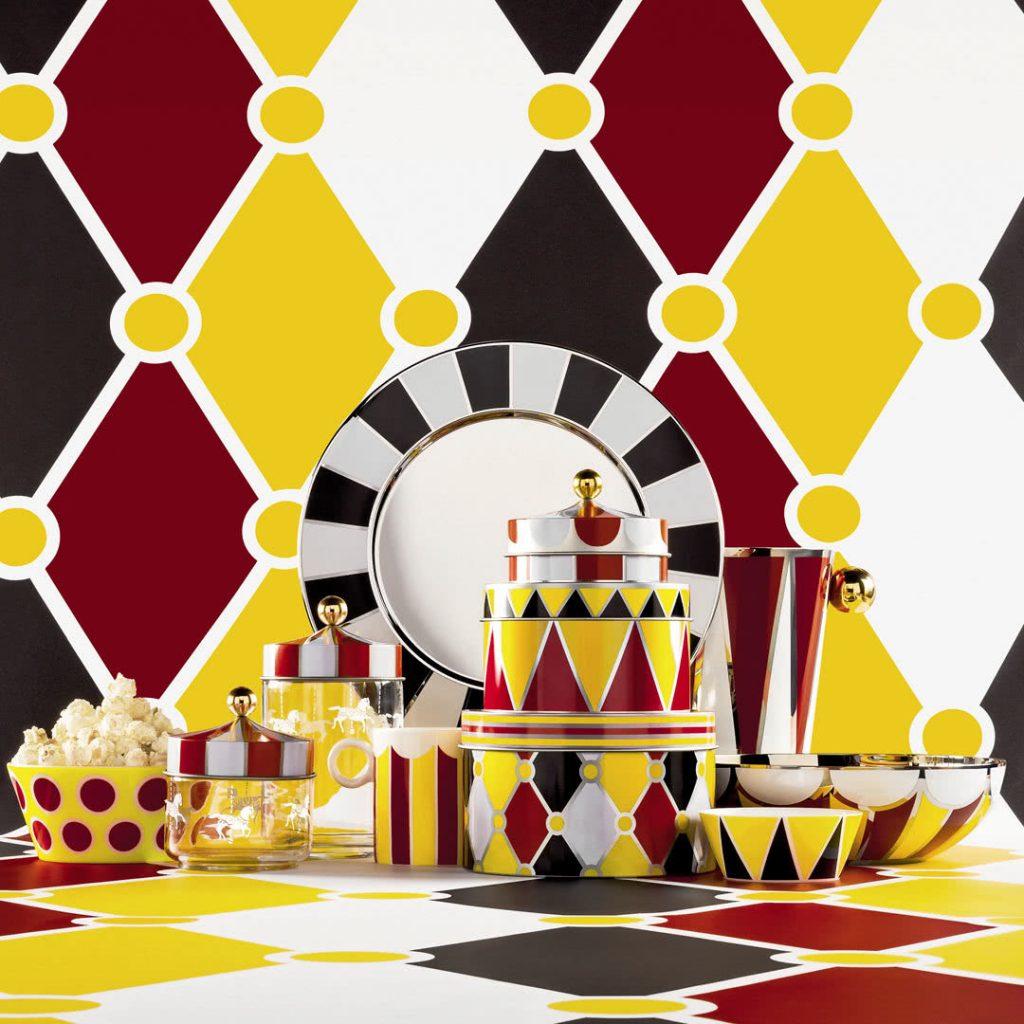 Alessi- Colección Circus de Marcel Wanders . Objetos de decoracion para sibaritas