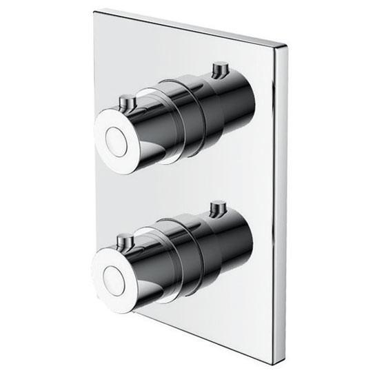 Batería de empotrar termostática Buades Como instalar una columna de ducha termostática