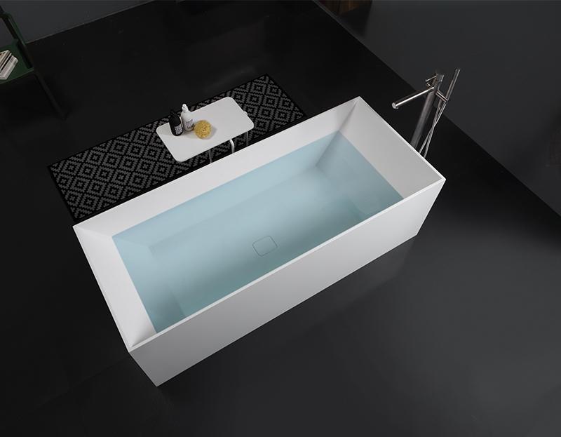 Banera o ducha. Banera Solid Surface exenta Stone 0 Grandform
